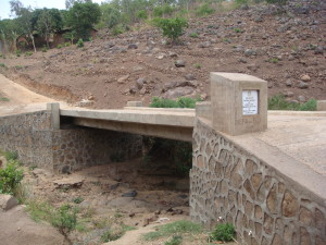 This Bridge was built thanks to Rotary in the UK and Malawi. The Bridge ensures that 15 communities are no longer cut off during the rainy season - an incredible achievement.