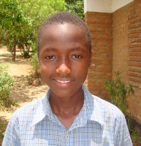 Charles is in school thanks to sponsorship