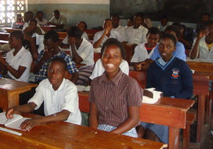 Students in class at JOSS